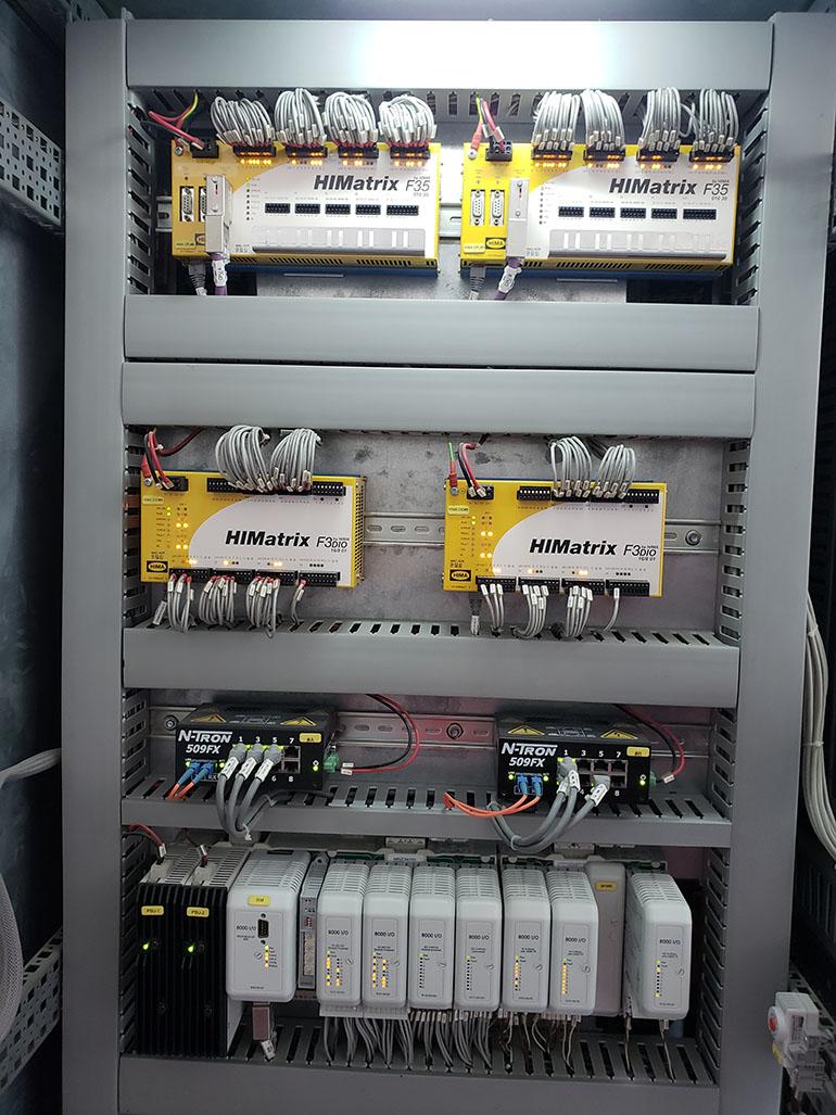 輸氣管道壓縮機ESD控制系統